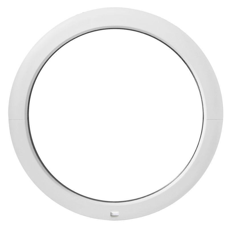 Fenêtre Ronde Fixe Pvc 50 55 60 65 70 80 90 100 110 120cm